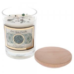 Gemstone Candle - Love Emerald