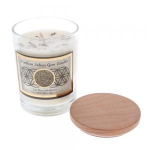 Gemstone Candle - Problem Solver Tiger Eye