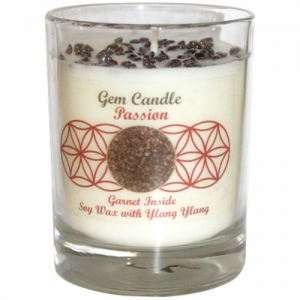 Gemstone Candle - Passion Garnet