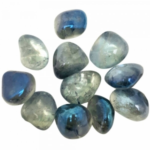 TUMBLE STONES - Aqua Aura Blue 100gms