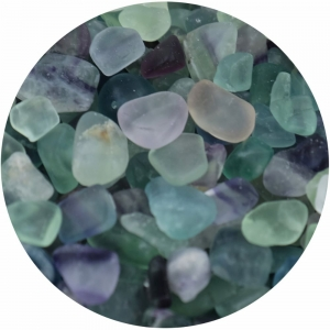 CRYSTAL CHIPS - Fluorite Chips 100gms
