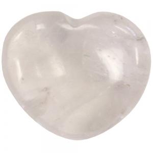 HEART - Clear Quartz  45mm