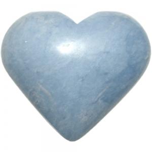 Angelite Heart 45mm