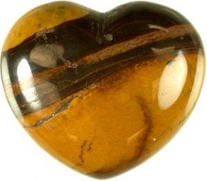 HEART - Desert Sunstone  45mm