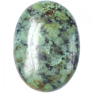 PALM STONE - AFRICAN TURQUOISE 3x4.5x1.5cm
