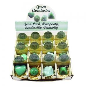 ASSORTED SHAPES - Green Aventurine