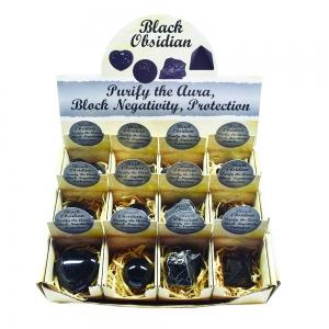 ASSORTED SHAPES - Black Obsidian