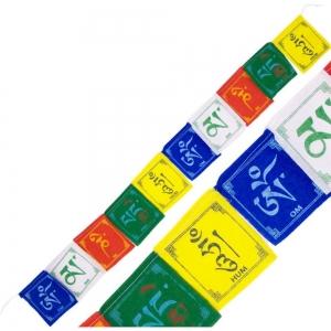 PRAYER FLAG - Om Mani Padme Hum 10 Flaps 86cm