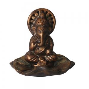 Ganesh Clay Incense Burner