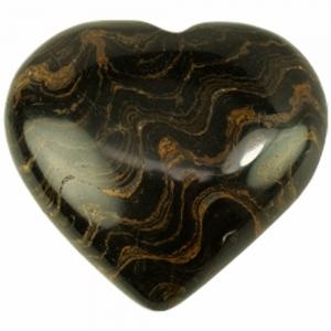 HEART - Stomatolite Puffed  50mm