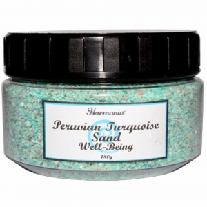 SAND IN 180 gm JAR - TURQUOISE