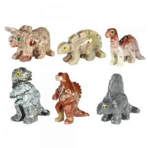 CARVING - DINOSAURS COLLECTION (PK OF 12) 3.8cm