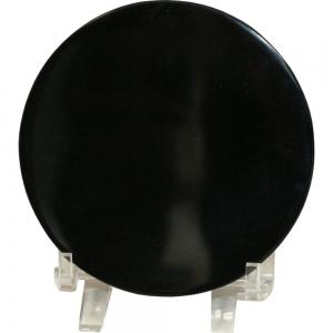 Black Obsidian Scrying Mirror 10cm