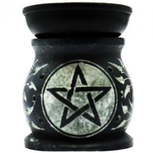 """3"""" Pentagram Black Oil Burner"""