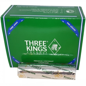 3 Kings Coconut Charcoal 33mm 100 Tablets