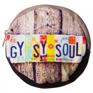 COIN POUCH ROUND -Gypsy Soul