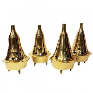 Brass Burners 10cm height (Set of 4)