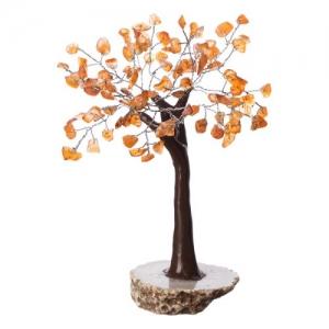Carnelian Agate Base Tree 100 Chips