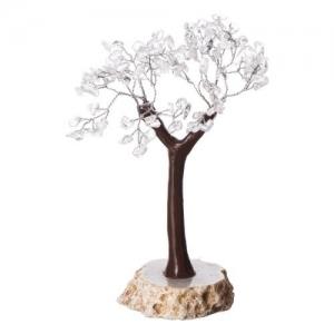 Clear Quartz Agate Base Tree 100 Chips