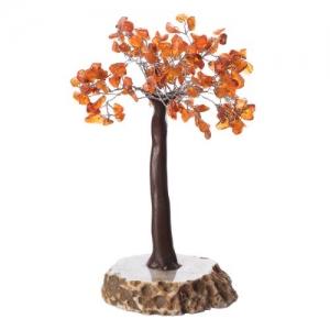 Carnelian Agate Base Tree 160 Chips