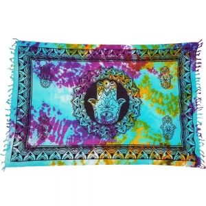 ALTAR CLOTH - Hand of Fatima Tie Dye Cotton 105x170cm