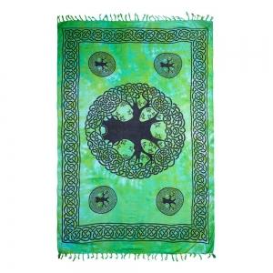 ALTAR CLOTH - Chakra Lotus Cotton 100x100cm