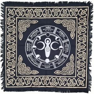 ALTAR CLOTH - Goddess Moon Phases 60cm x 60cm