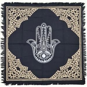 ALTAR CLOTH - Hamsa Hands 60cm x 60cm