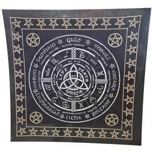 ALTAR CLOTH - Celtic Calendar 60cm x 60cm