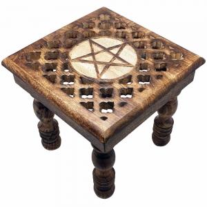 ALTAR TABLE - Pentacle Cut 30x28x30cm