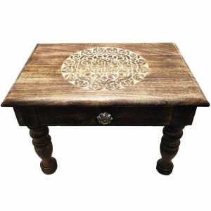 ALTAR TABLE - Mandala 50x35x35cm