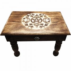 ALTAR TABLE - Pentacle 50x35x35cm