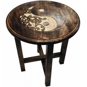 ALTAR TABLE - Ying Yang 40x45x40cm