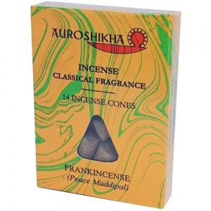 Auroshikha Cones - Frankincense 14 Cones