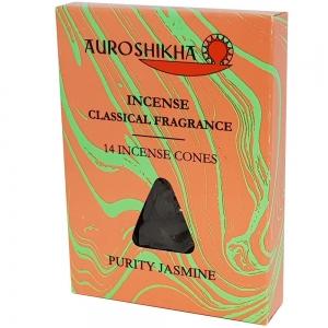 Auroshikha Cones - Jasmine 14 Cones