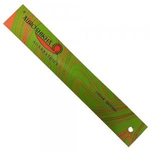 Auroshikha Incense - Cedar 10gms