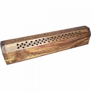 BOX INCENSE HOLDER - Jali Cut 30cm