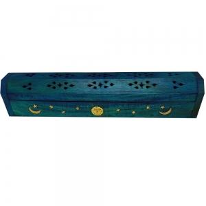 BOX INCENSE HOLDER - Constellation Blue