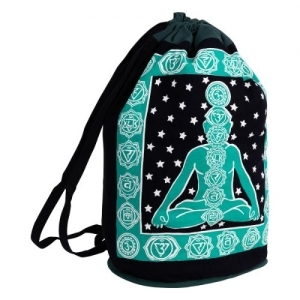 Chakra Cotton Backpack 45cm