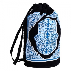 Hand of Fatima Cotton Backpack