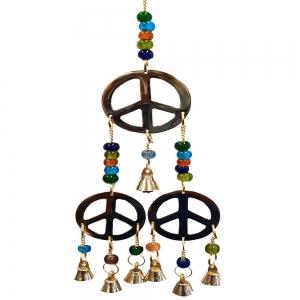 3 Peace Brass Bells