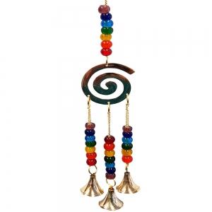 32cm Spiral Brass Bell Chime