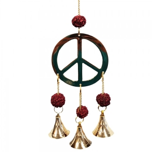 27cm Peace Brass Bell Chime