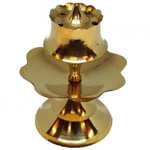 7cm Brass Incense Burner