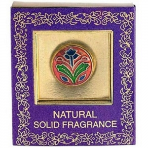 SOI Solid Perfume in Brass Tin 4gms  Rose