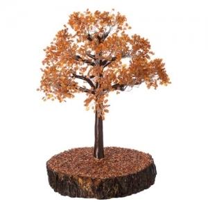Carnelian Tree 2150 Chips Wood Base