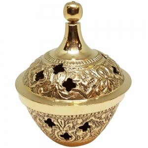 Brass Charcoal Burner 6.5x9cm