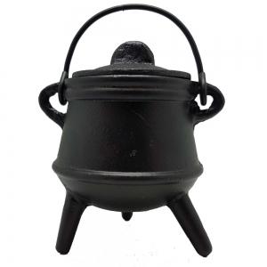 12.5cm Plain Tripod Cauldron