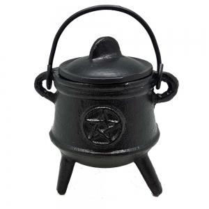 12.5cm Pentacle Tripod Cauldron