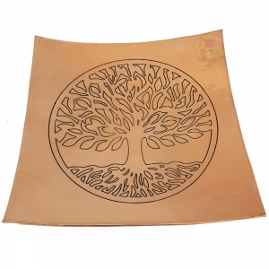 Copper Tree of Life Plate 20cm
